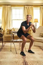 Chair Squat The 18 Minute Beach Body Home Workout The Voice Tribune