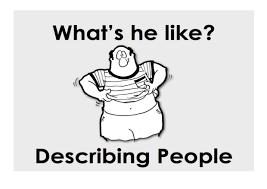 describing people short conversations easy english practice