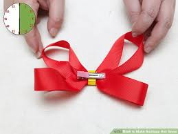 hair bows how to make boutique hair bows with pictures wikihow