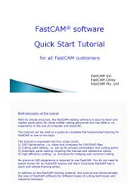 fastcam tutorial auto cad circle