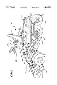 patent us5406778 electric drive riding greens mower google patents