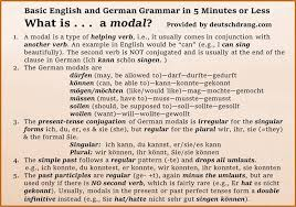 german modal verbs modal verb practice u0026 grammar