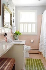 Bathroom Color Scheme by 73 Best What To Do With A 50 U0027s Pink Bathroom Images On Pinterest