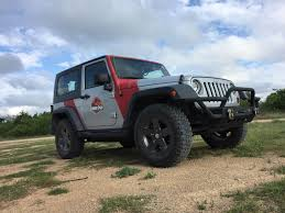 small jeep wrangler clever fangirl jurassic jeep