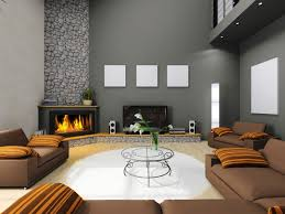 outstanding simple living rooms with fireplace decoration in room
