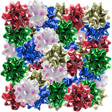 gift wrap bows 72ct tiny gift wrap confetti ribbon bows assorted 1 stick on