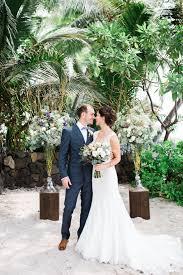 Hawaiian Wedding Dresses Eco Friendly Hawaiian Beach Wedding Ruffled
