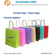 china factory different material paper plastic custom shopping bag