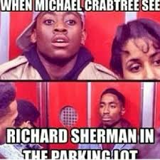 Richard Sherman Memes - don t you ever talk about me the internet reacts to richard