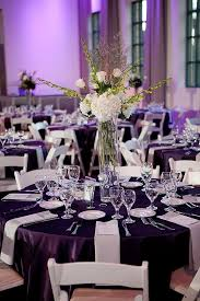 Purple Wedding Decorations Stunning Purple And White Decoration For Wedding 86 About Remodel