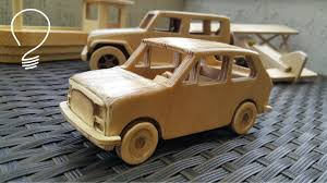 land rover wooden fiat 126p wooden toy car youtube