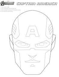 coloring pages halloween masks free avengers printable halloween masks to color superheroes