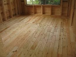 cabin floor bedroom wide plank reclaimed pine floor rustic other cabin