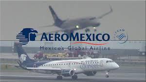 Press Advertising Aeromexico Multi Format Vor 13l Aeromexico Connect Embraer Erj 190 Landing At York S