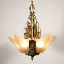 Art Nouveau Chandelier 131 Best Art Deco Lighting Images On Pinterest