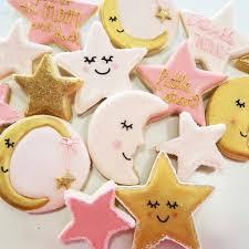 twinkle twinkle baby shower twinkle twinkle baby shower cookies moons