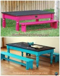 childrens bench and table set childrens table set kids table reclaimed wood kid s farmhouse