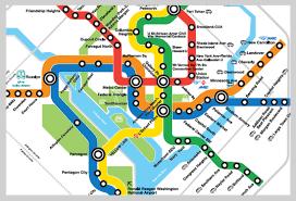 washington subway map map of washington dc metro travel map travelquaz com