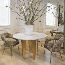 kelly wearstler grafton table composed of a steel base leafed