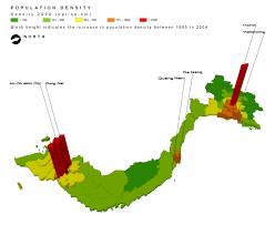 China Population Density Map by Icem Materials Maps And Geospatial Work