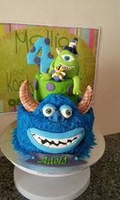 monster inc bubbles adolfie 4de verjaardag ideas pinterest