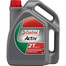 castrol activ 2t motorcycle oil 4 litre supercheap auto
