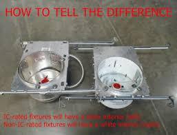 recessed lighting design ideas non ic recessed lights insulation
