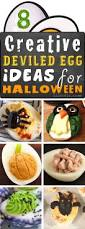 easy halloween party appetizers deviled eggs 8 ways