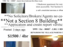 Section 8 3 Bedroom Voucher Section 8 Voucher Holders Face Blatant Discrimination On