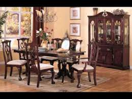 cherry wood dining room table cherry wood dining room set design decorating ideas youtube
