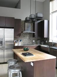 Slate Kitchen Backsplash by Kitchen Slate Mosaic Tile Backsplash Dark Brown Granite