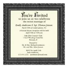 post wedding reception invitation wording great post wedding reception invitation wording compilation on top