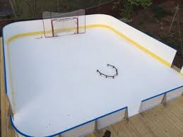 Backyard Rink Ideas Learn More About Synthetic D1 Backyard Rinks
