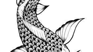 simple koi fish drawing make koi fish drawings your work of art