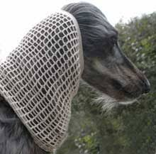 afghan hound snood dog moda snoods handmade crochet snoods for dogs