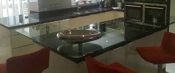 Glass Breakfast Bar Table Glass Breakfast Bar Table With Kitchen Counter Top