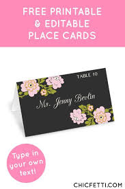free place card template 6 per sheet 96 free place card template 6