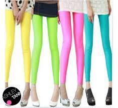 light pink leggings womens light blue maroon orange pink yellow ladies footless pants elastic
