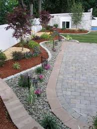 Backyard Stone Ideas by Another Landscape Look For Places Where We Don U0027t Want Grass I