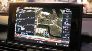New Orleans Google Maps by Audi Connect Demo Audi A6 Outside Racowireless Booth At Ctia