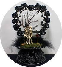 skeleton wedding cake toppers dod skeleton wedding cake topper day of the dead
