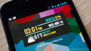 cool android widgets beautiful clock widgets app integrates with android 4 2 lockscreen