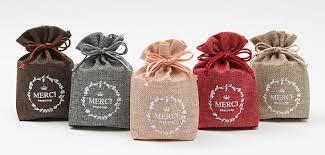wedding favor bag 5 muslin bags fabric gift bags wedding favor bags party gift bags