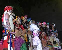 Dia De Los Muertos Halloween Decorations Dia De Los Muertos Scaring Up Some Fun In Merida My Beautiful