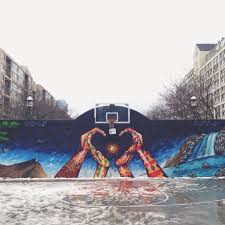 vsco infamous outdoor basketball court toronto on deepasco