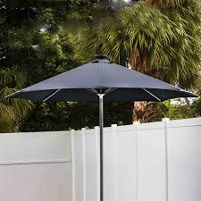 exterior cool black round small patio lowes offset umbrellas with