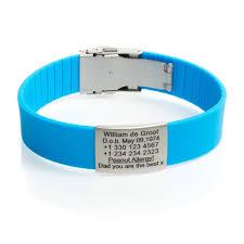 blue bracelet images Sport id bracelet light blue icetags jpg
