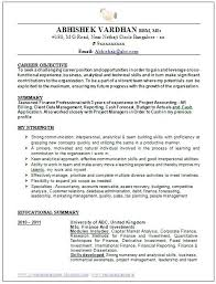 resume exles for objective section career resume exles sle template of an excellent work