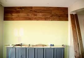 Pine Interior Walls Diy An Easy Wood Plank Wall Using Pine Flooring We Speak Diy