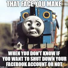 image tagged in thomas worried imgflip